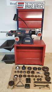 Ammco 4000 Disc Drum Brake Lathe With Bench And Accessories