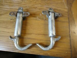 Vintage Hood Hold Down Latch Clamps Ford Model A 1929 1929 3 Hole Mount Pair