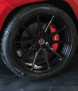Custom Vossen Hf3 Wheels 22 X 10 5 And Pirelli Scorpions