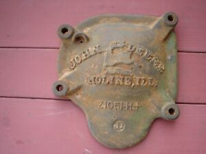 John Deere Vintage Cast Iron Cover Z 1051 H Very Good Condition