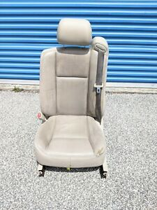 2003 2007 Cadillac Cts Front Left Side Seat Assembly Tan Oem Tested