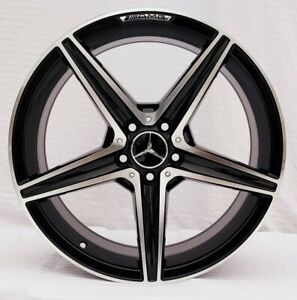 19 Staggered Mercedes Amg Style Wheels brand New S Sl E Cl C Class