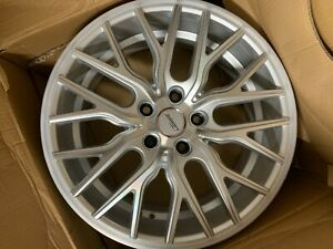 Bmw 18 Wheels Set Of 4 2011 2018 5 series 3 series Brand New Metallic Silver