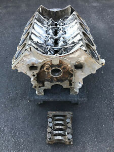 1962 Buick 215 V8 Engine Block With Main Bearing Caps