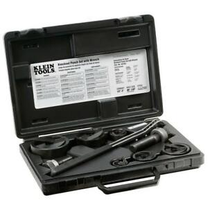 9 piece Knockout Punch With Wrench Set