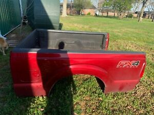 2013 Ruby Red Super Duty Bed F250 F350 Short Box 1999 2016