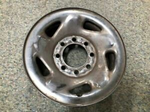 98 03 Dodge Ram 2500 Used 16x6 1 2 Steel Wheel Rim 8 Lug Chrome Clad Cover