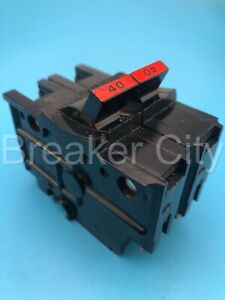 Federal Pacific Fpe 40 Amp 2 Pole Type Na240 Stab lok thick Circuit Breaker