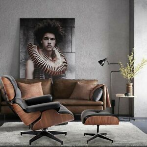 New Ergonomically Designed Leather Lounge Chair