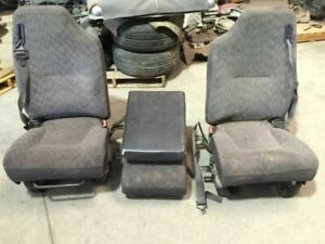 01 Dodge Ram 2500 Sport Complete Front Left Right Seats Console Seat