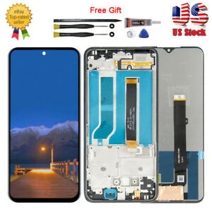 US For LG K51 K500 K500UM LCD Display Touch Screen Digitizer ± Frame Replacement $43.89