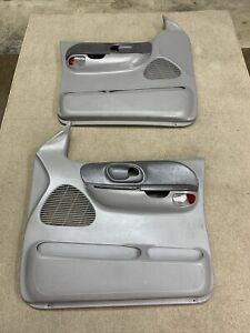 99 03 Ford F 150 From A Crew Cab Oem Pair Of Door Panels Power Light Gray