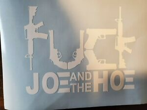 Joe And The H Decal Vinyl Decal