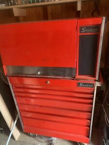 Vintage Snap On Tool Box Kr 537a Kr 557b Top Bottom 1977 Matched Set 1owner