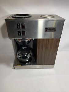 Bunn Pour omatic Vpr 12 Cup Commercial Coffee Maker Pour Over Brewer Warmer