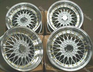 8 5 X 17 Silver Rs G S Alloy Wheels For Bmw 5 6 7 8 Series E31 X1 E84
