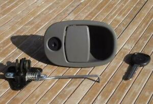 Chevy Trailblazer Glove Box Latch 02 05 Glovebox Compartment Handle Gray Envoy