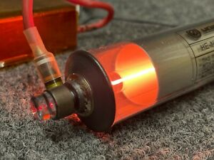 He ne Gas Laser Helium Neon Uniphase With Dc Power Supply