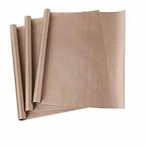3 Pack Teflon Sheet For Heat Press Transfer Sheet Non Stick 16 X 20 Craft Mat