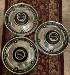 67 To 72 Gmc Hubcaps 3 Only