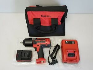 Snap On Model Ct8850 1 2 Impact Wrench 1 Battery Charger Tool Bag
