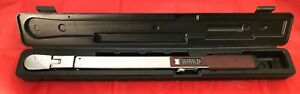 Mac Tools Twv250p 50 250 1 2 Torque Wrench In Black Hard Case
