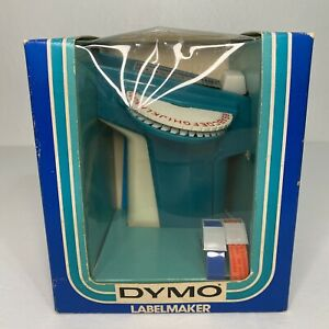 New In Box Dymo Model 1720 Labelmaker Incs 2 3 8 x 3 Tapes Hand Held Vintage