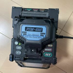 As is Fujikura Fsm 60s Optical Fiber Fusion Splicer Main Body Only