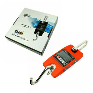 New Digital Hanging Scale 300 Kg 660 Lbs Industrial Crane Scale Red Us