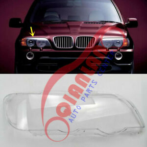 For Bmw X5 E53 1999 2003 Right Side Headlight Lens Cover Sealant Glue