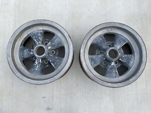 Cragar Vintage Rims S S Style 14 X 6 With 4 3 4 Bolt Pattern Chevrolet