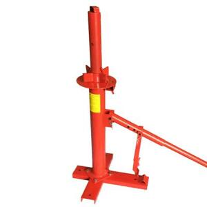 New 8 In Portable Automotive Manual Tire Changer Bead Breaker Mounting Tool Red