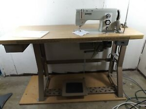 Bernina Sewing Machine Model Industrie 850 Table Industrial Pickup Only