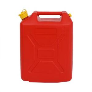 New Red Fuel Can 20l Oil Water Petrol Diesel Gasoline Gas Fuel Storage Tank