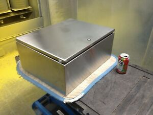 Hoffman Nvent Csd20168ss6 Stainless Enclosure 20x16x8 Type 4x In Stock