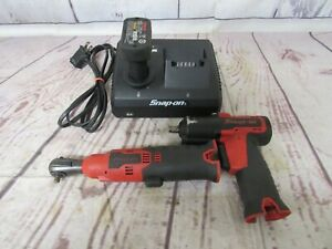 Snap On Ratchet Impact Drill Dual Bay Charger Bundle