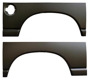 Rear Wheel Arch Quarter Bed Panels For Dodge Ram 02 08 1500 03 09 2500 Pair