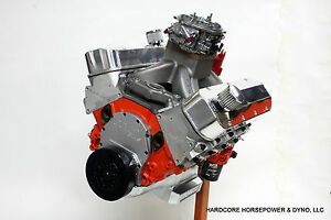 572ci Big Block Chevy Pro Street Engine 800hp Carb D Built To Order Dyno Tuned