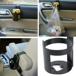 2pcs Universal Car Vehicles Cup Bottle Holder Mount Water Can Mug Drink Holder