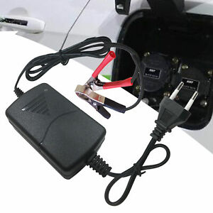 12v Universal Car Battery Maintainer Charger Tender Auto Trickle Motorcycle Boat