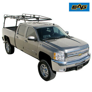 Full Size Ladder Pickup Lumber Utility Kayak Rack Truck Contractor 800lb Load