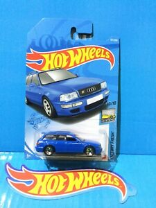 2021 Hot Wheels New Model J Case 94 Audi Avant Rs2 Factory Fresh 157 Long Card