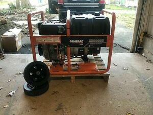 Generac Xd5000e 5000 Watt Electric Start Portable Diesel Generator carb