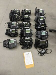 Lot 15 Polycom Soundpoint Ip 550 W Stand Handset Power Supply 2201 12550 001