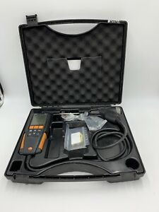 Testo 310 Residential Combustion Flue Gas Analyzer Kit Untested Powers On