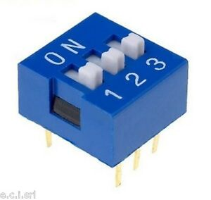 34 56003 Dip Switch 3 Pin Pitch 0 3 32in Tcs