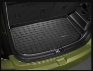 Weathertech Cargo Liner Trunk Mat Kia Soul 2010 2013 Blk Used Very Good