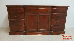 Domain English Cherry Chest Dresser Buffet Cabinet Old World
