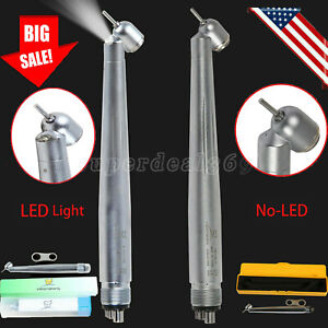 Dental 45 degree led Surgical High Speed Handpiece Turbine 4hole Fit Kavo Nsk