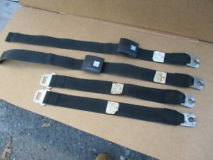 1967 1968 1969 Camaro Firebird Seat Belts Chevelle Lemans Seat Belts Oem